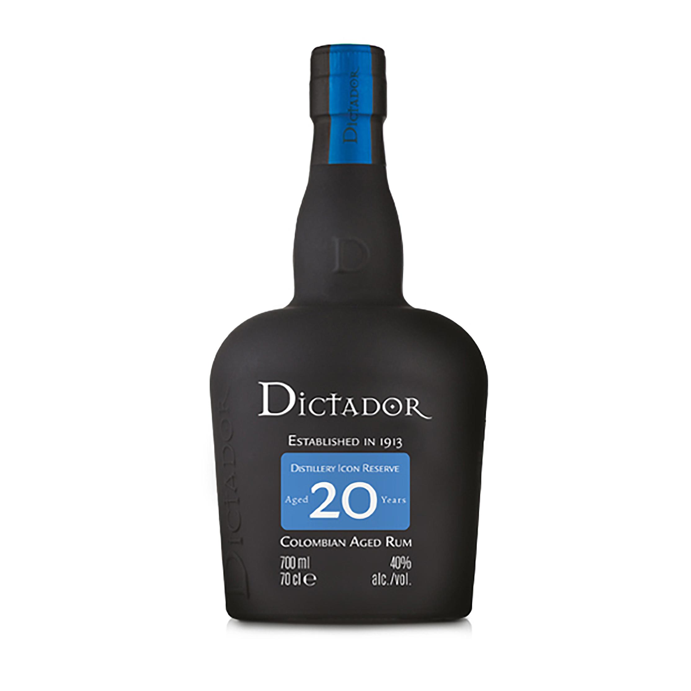 Rhum - Dictador 20 ans - Colombie - 40° - 70cl