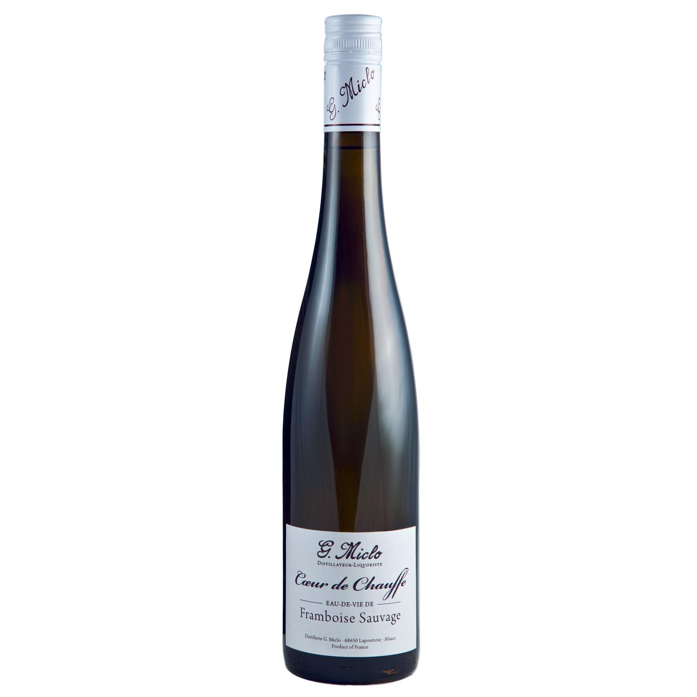 Eau de vie - Framboise Sauvage - Coeur de Chauffe - Distillerie G. Miclo - 45° - 70cl