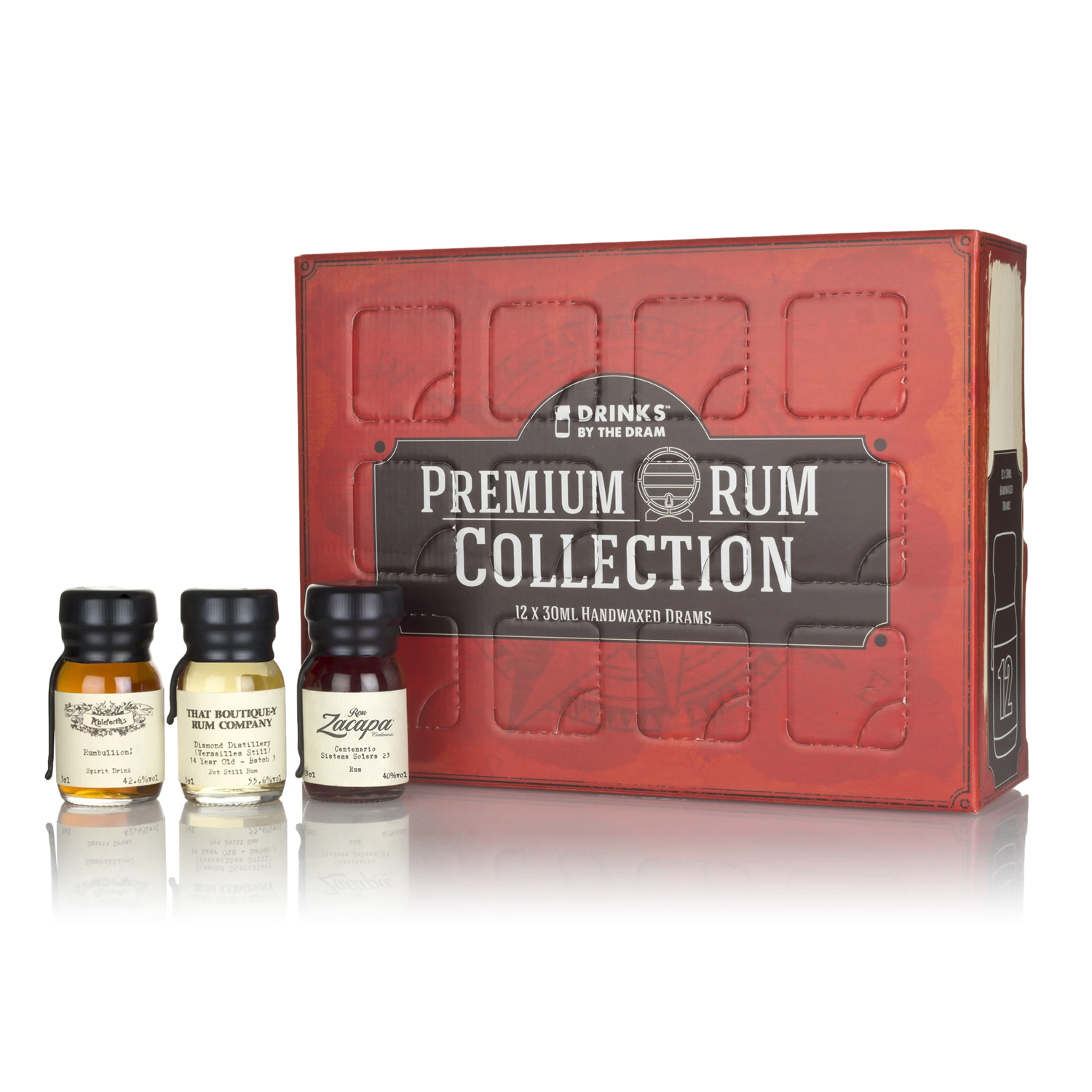 Rhum - Coffret Rhum Premium Collection 12x3cl - 41,9°