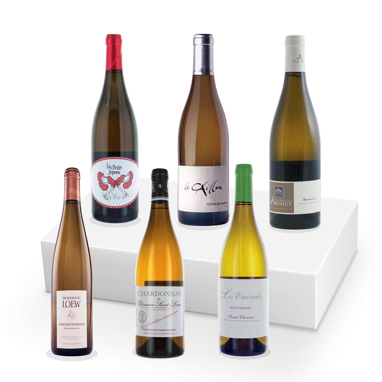 Coffret découverte - 100% BIO - Vins blancs - 6 bouteilles
