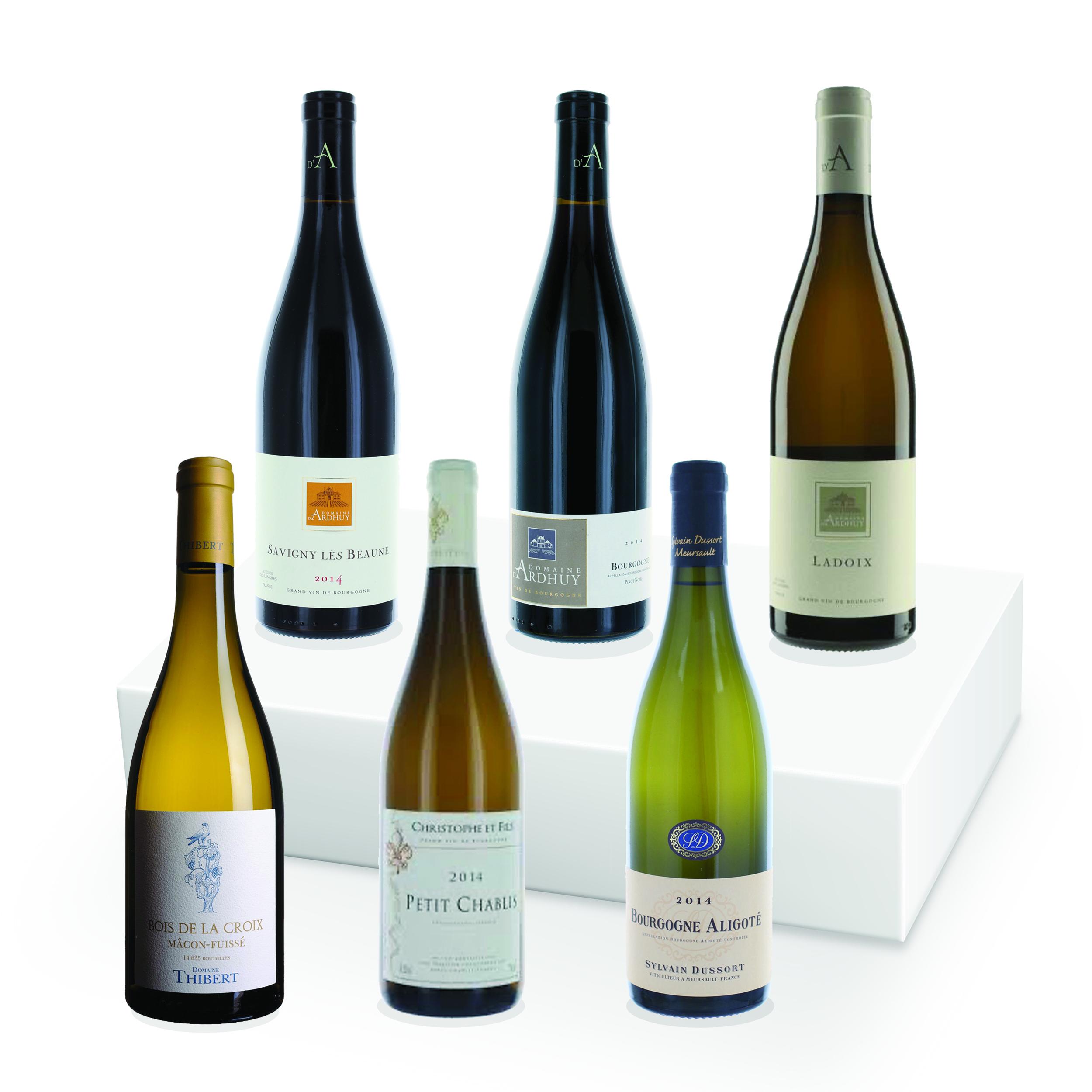 Coffret Bourgogne Rouge et Blanc - 6 bouteilles
