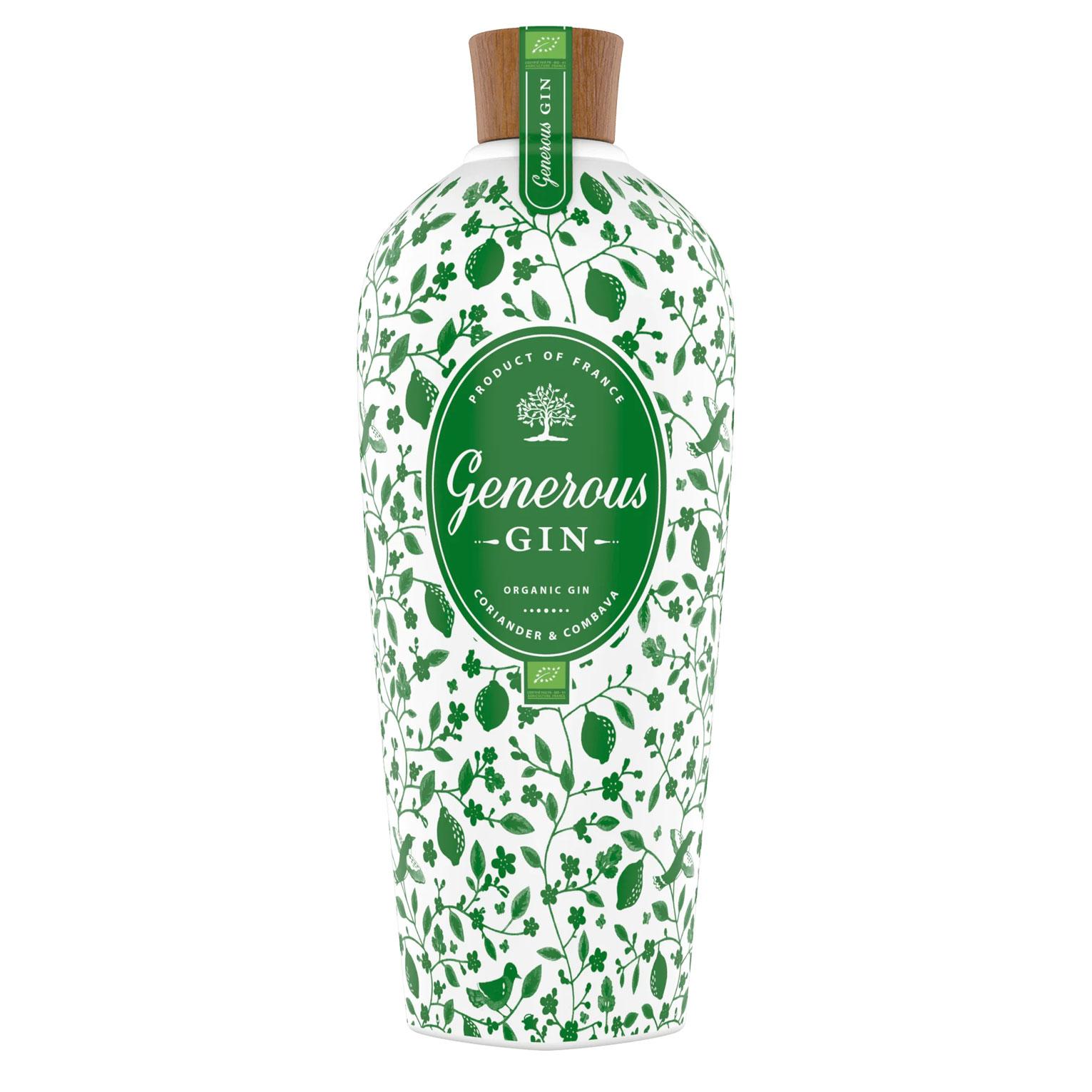 Gin - Generous Gin - Organic - 44° - 70 cl