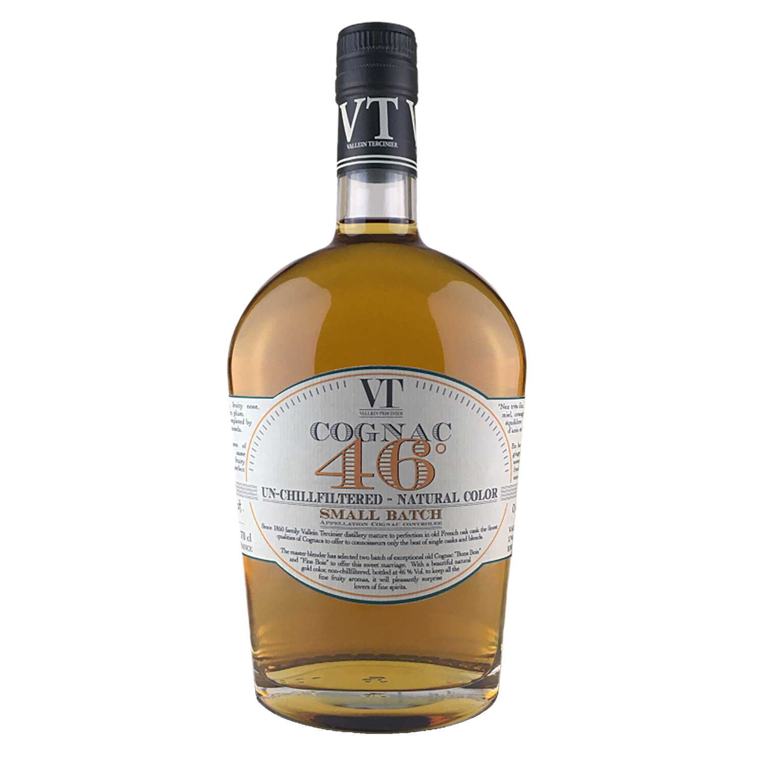 Cognac - Small Batch - Vallein Tercinier - 46° - 70cl