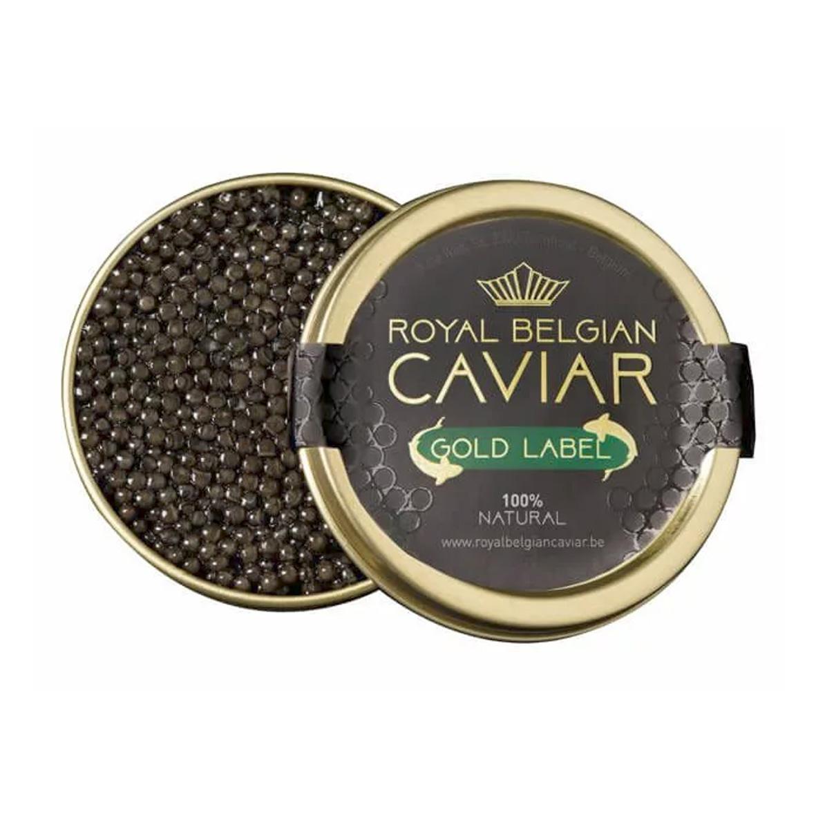Caviar - Royal Belgian Caviar - Gold Label