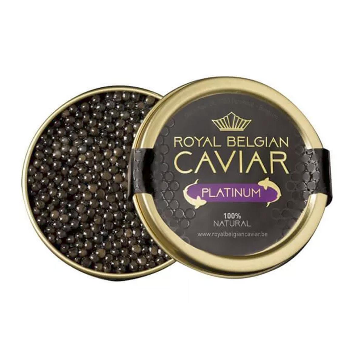 Caviar - Royal Belgian Caviar - Platinum