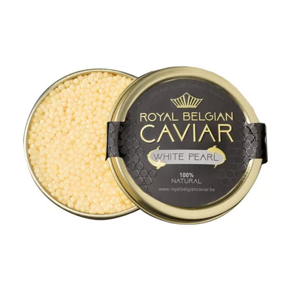 Caviar - Royal Belgian Caviar - White Pearl