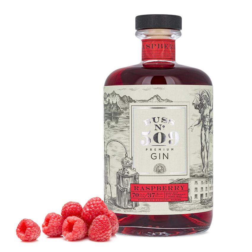 Gin - Buss n°509 - Raspberry - Belgium - 70cl - 37,5°