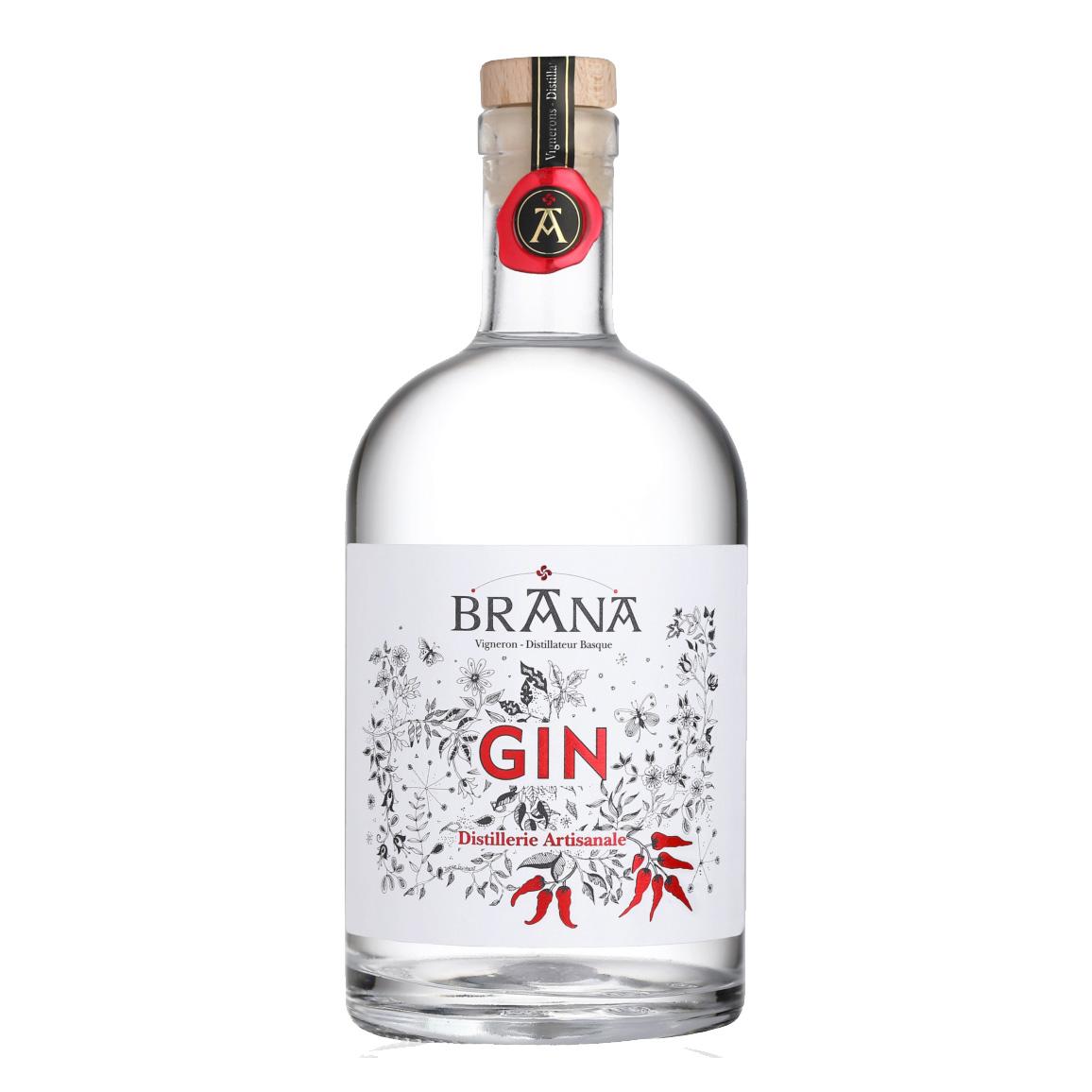 Gin au Piment d\'Espelette - Domaine Brana - France (Pays Basque)