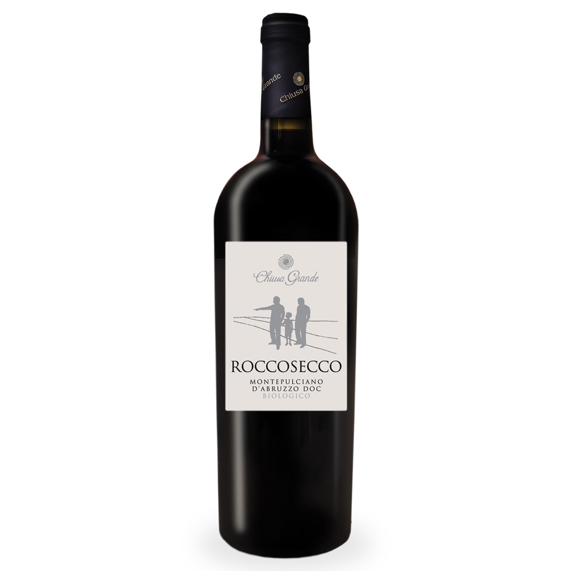Montepulciano D\'Abruzzo Doc - Roccosecco  - Chiusa Grande - 2015 - BIO