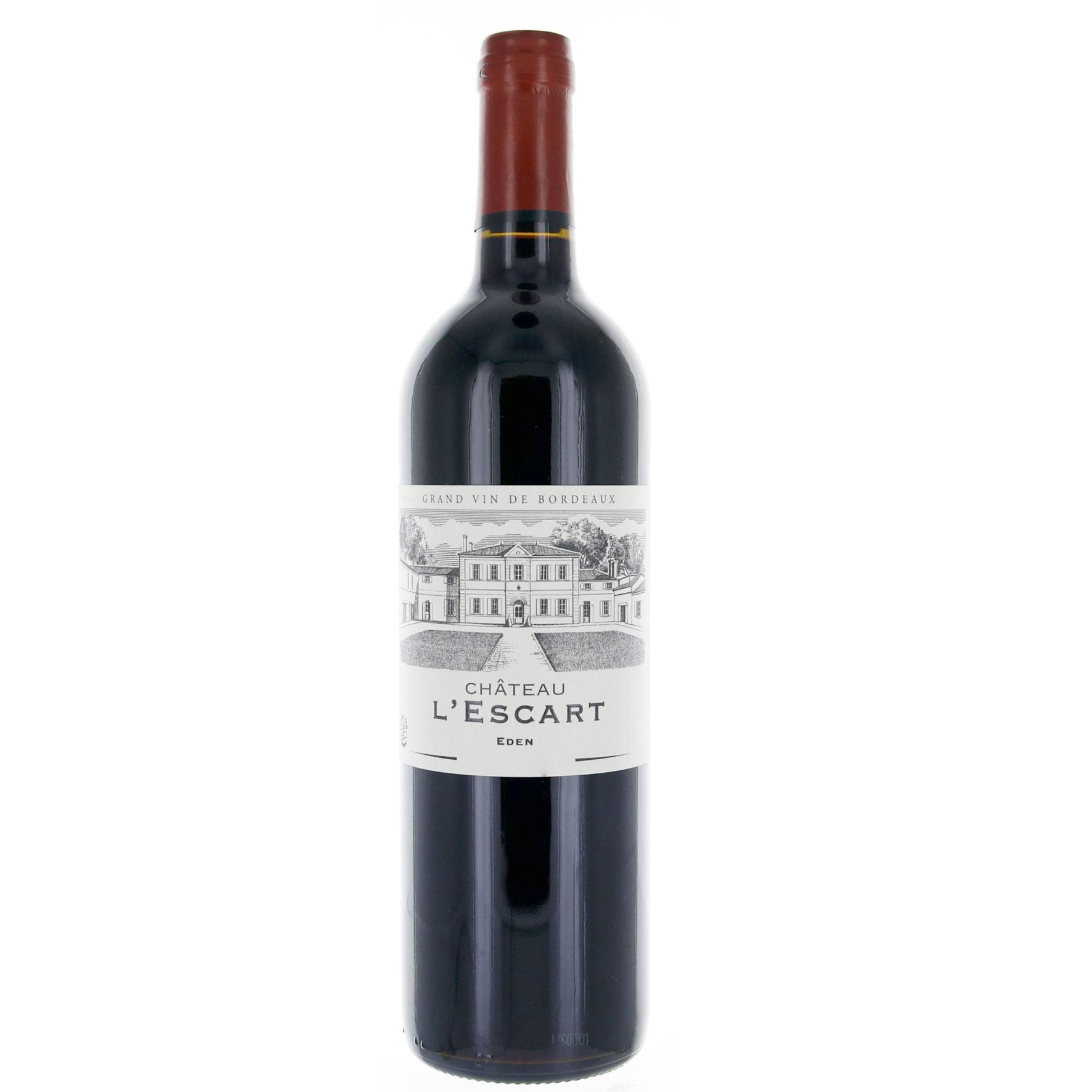 Bordeaux Supérieur - Cuvée Eden - Château L\'Escart - 2018 - BIO