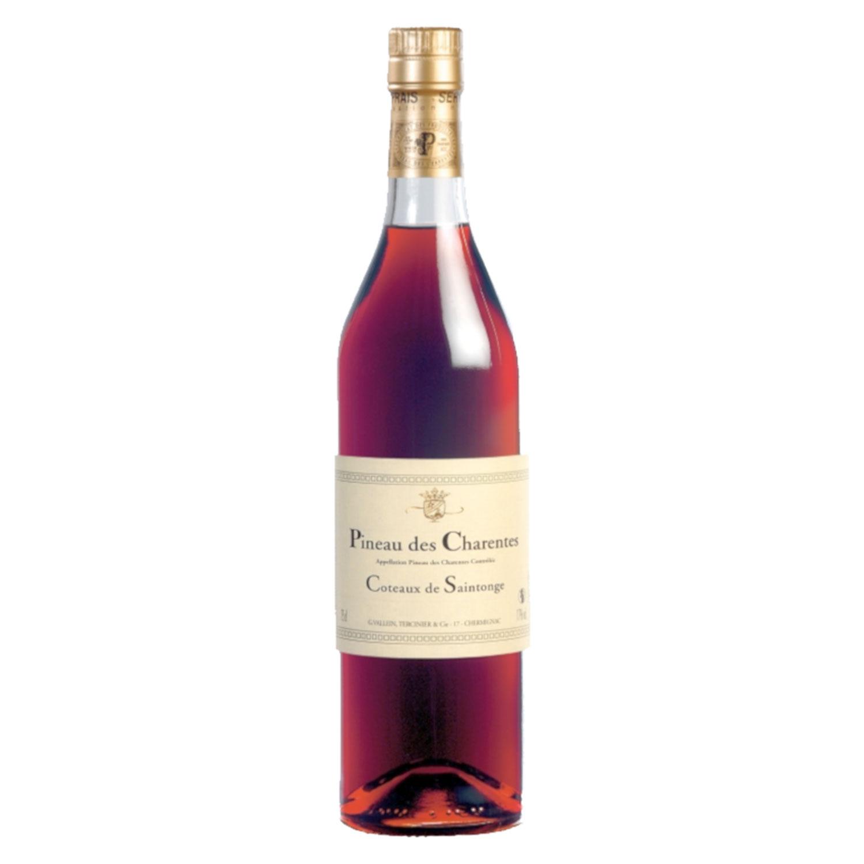 Pineau des Charentes Rouge - Vallein Tercinier - 17,5° - 75cl