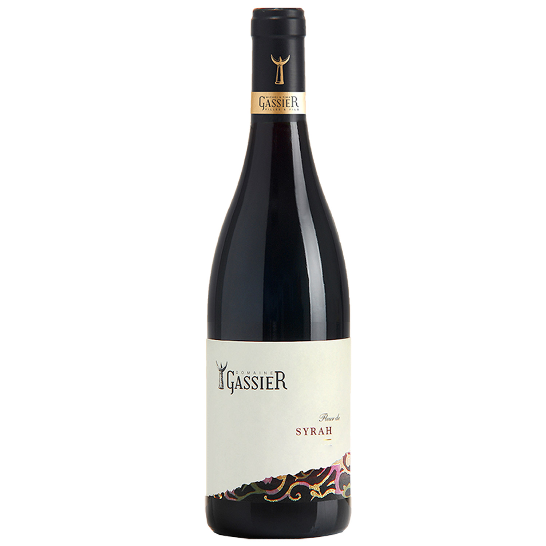 Vin de Pays - Syrah - Domaine Gassier - 2018 - BIO