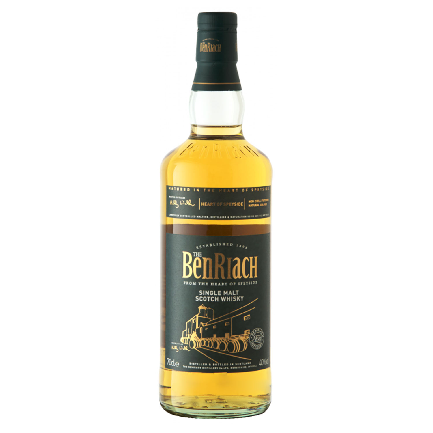 Whisky - Benriach - Heart Of Speyside - Single Malt - 70cl - 40°
