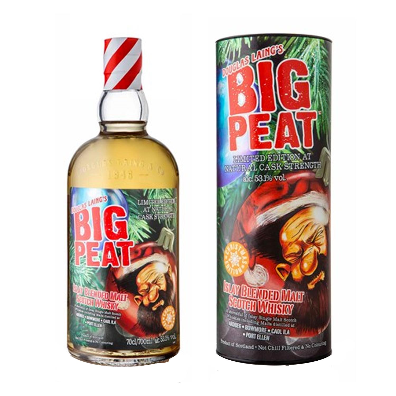 Whisky - Big Peat - Christmas Edition 2020 - Blended Malt - 70cl - 53,1°