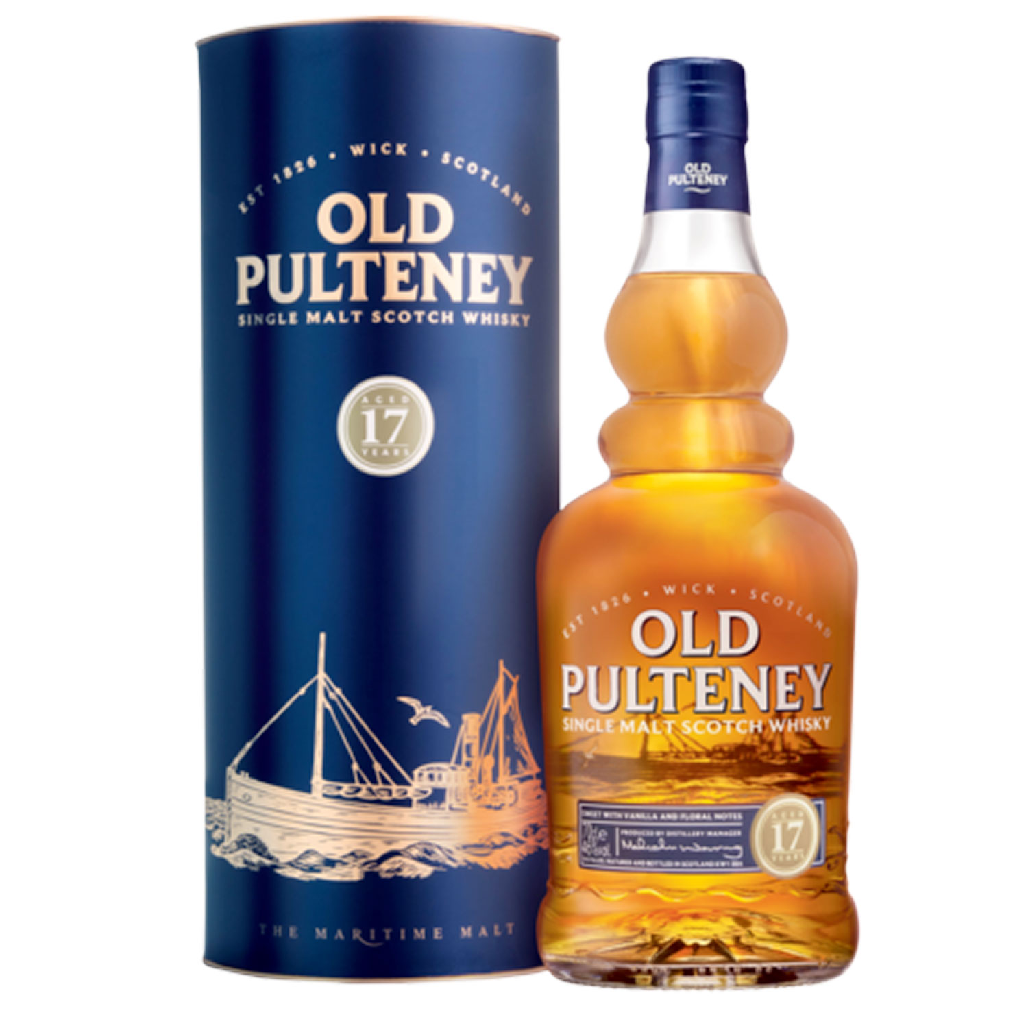 Whisky - Old Pulteney 17 ans - Single Malt - 70cl - 46°