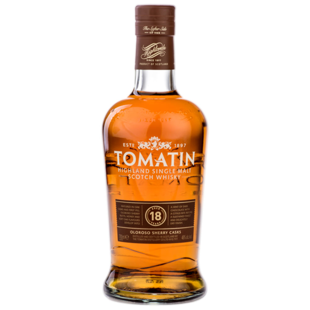 Whisky - Tomatin 18 ans - Single Malt - 70cl - 46°