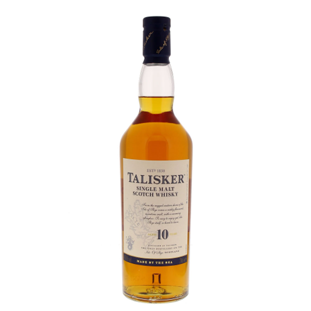 Talisker 10 Years - Single Malt - 70cl - 45.8°