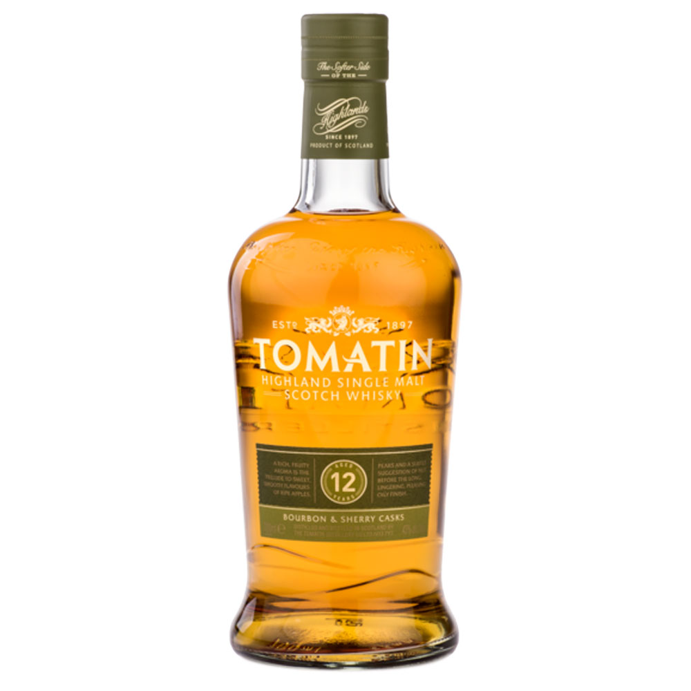 Whisky - Tomatin 12 ans - Single Malt - 70cl - 43°