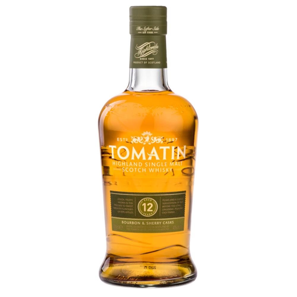 Whisky - Tomatin 12 ans - Single Malt - 70cl - 43°