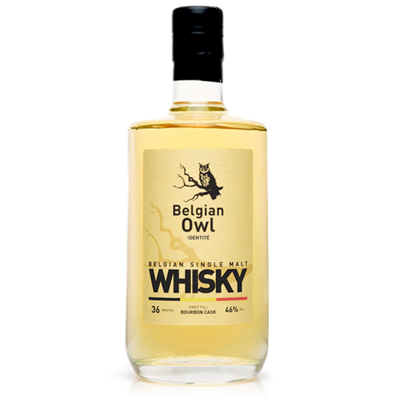 Whisky - Belgian Owl 3 Years - Single Malt  - 50cl - 46°
