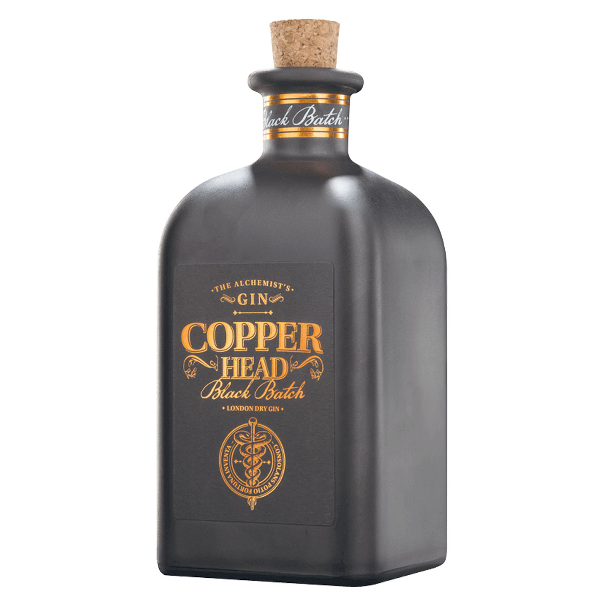 Gin - Copper Head Black - Belgique - 50cl - 42°