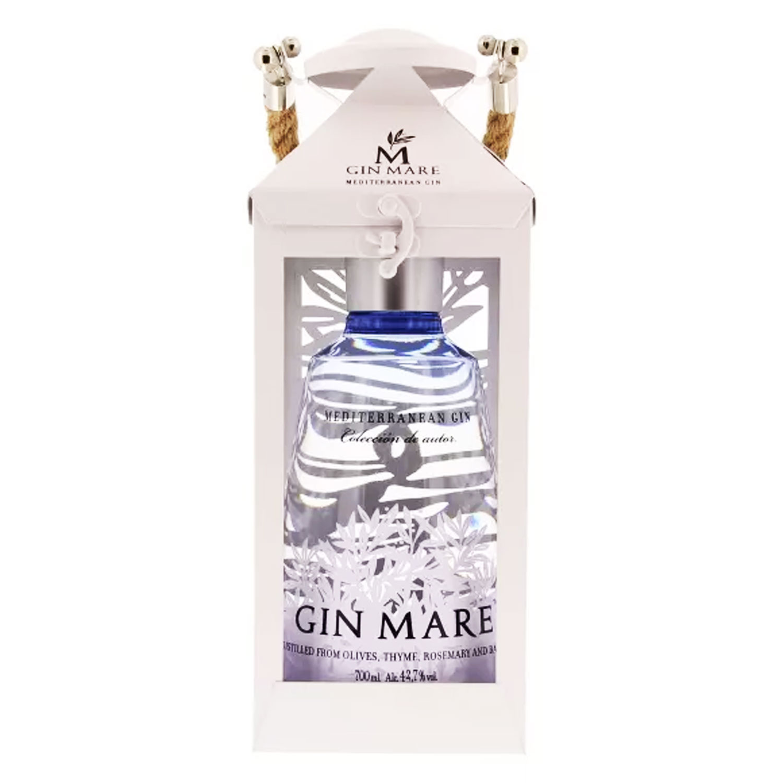 Gin - Coffret Lanterne Gin Mare - 42% - Espagne