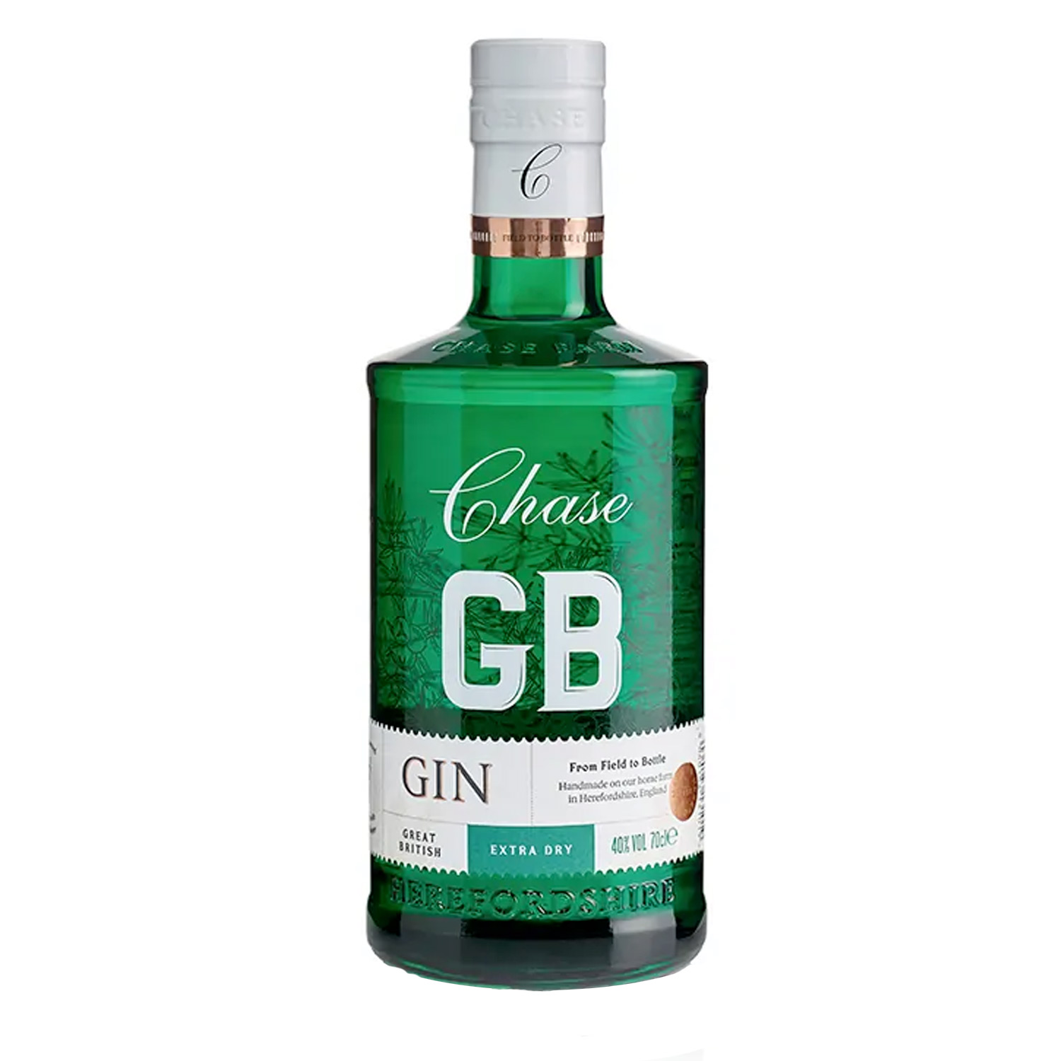 Gin - William Chase - Extra Dry - Angleterre - 40° - 70 cl