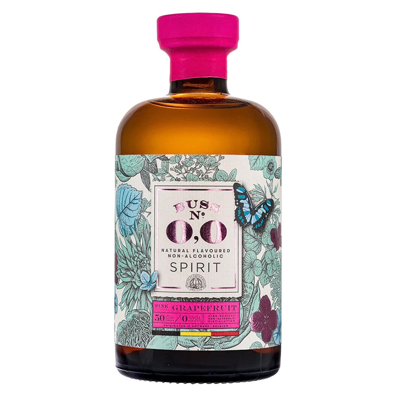 Gin - Buss n°509 Pink Grapefruit 0.0 - Belgique - 50cl (Sans Alcool)