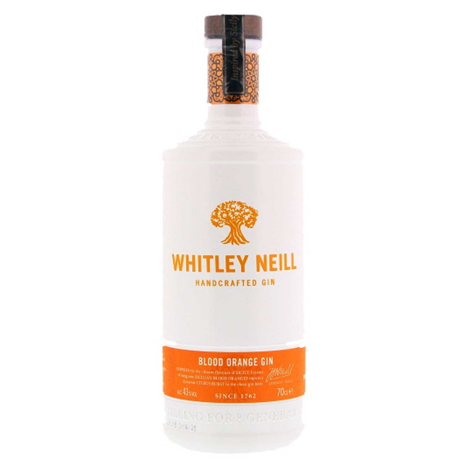 Gin - Whitley Neill - Blood Orange - Angleterre - 43° - 70cl