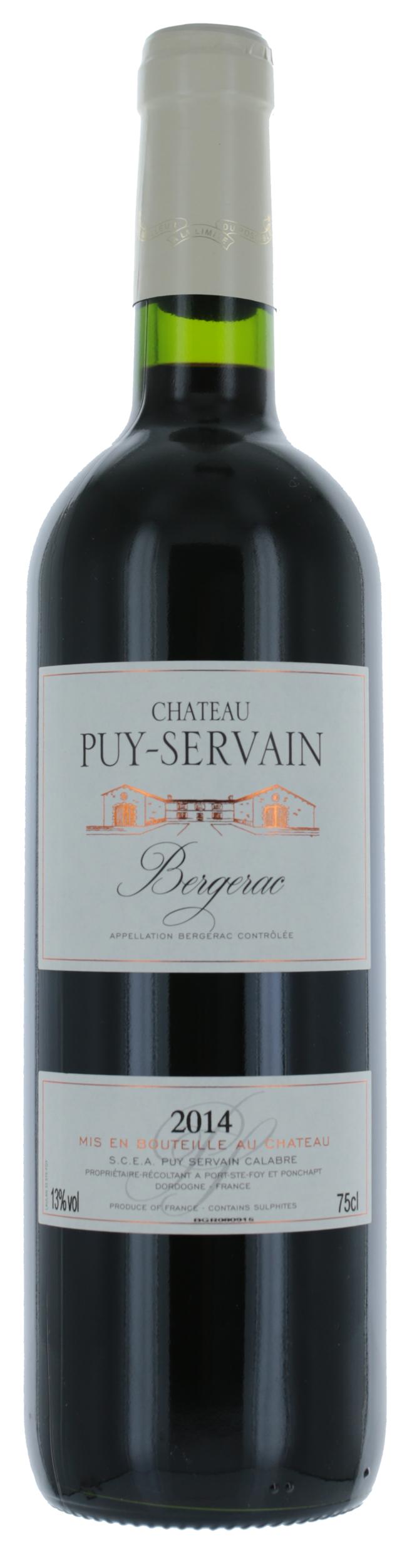 Bergerac - Rouge - Château Puy-Servain - 2018