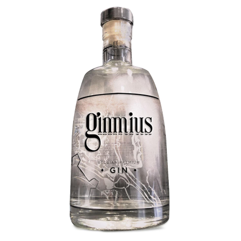 Gin - Gimmius. - Belgique - 41° - 70cl