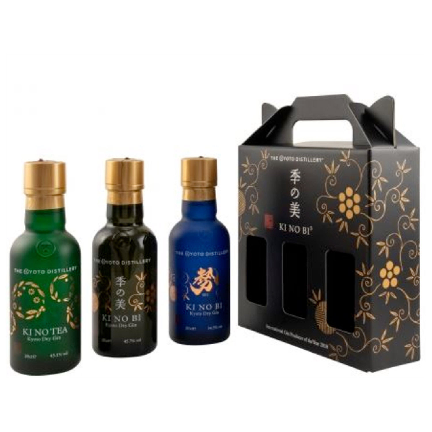 Gin - Ki No Bi - Coffret 3x20cl - Japon