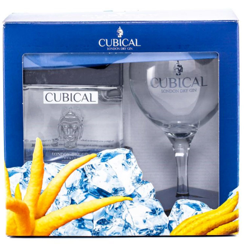 Gin - Cubical - Coffret Premium London Dry - Espagne - 40° - 70cl
