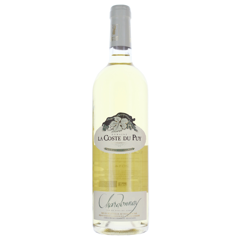 Vin de Pays - Chardonnay - Domaine  La Coste du Puy - Blanc - 2019- BIO