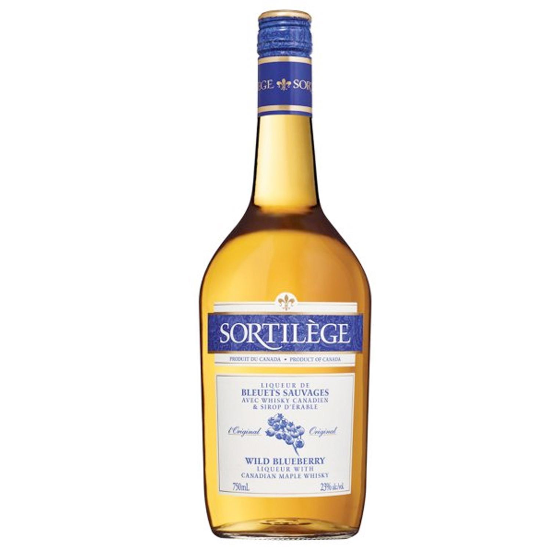 Liqueur - Sortilège - Liqueur de Bleuets Sauvages avec Whisky canadien et sirop d\'Erable - Canada - 75 cl - 23°