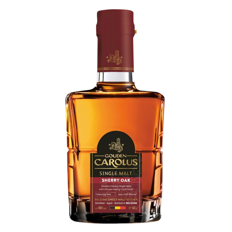 Whisky - Gouden Carolus - Sherry Oak - Single Malt - 50 cl - 48°