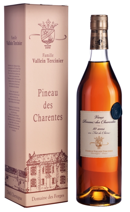 Vieux Pineau des Charentes Blanc 10 ans de Fût - Vallein-Tercinier