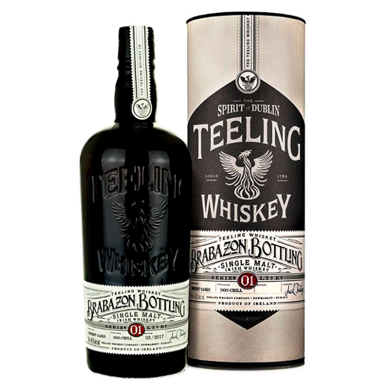 Whisky - Teeling - Brabazon Bottling Serie 01 - Irelande - Single Malt - Non Tourbé- 70 cl - 49,5°  - Edition Limitée