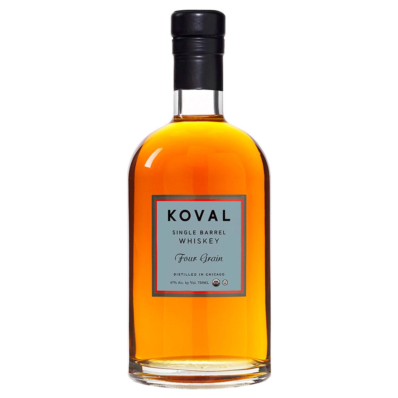 Whisky - Koval - Four Grain - USA - Non Tourbé - 50 cl - 47°