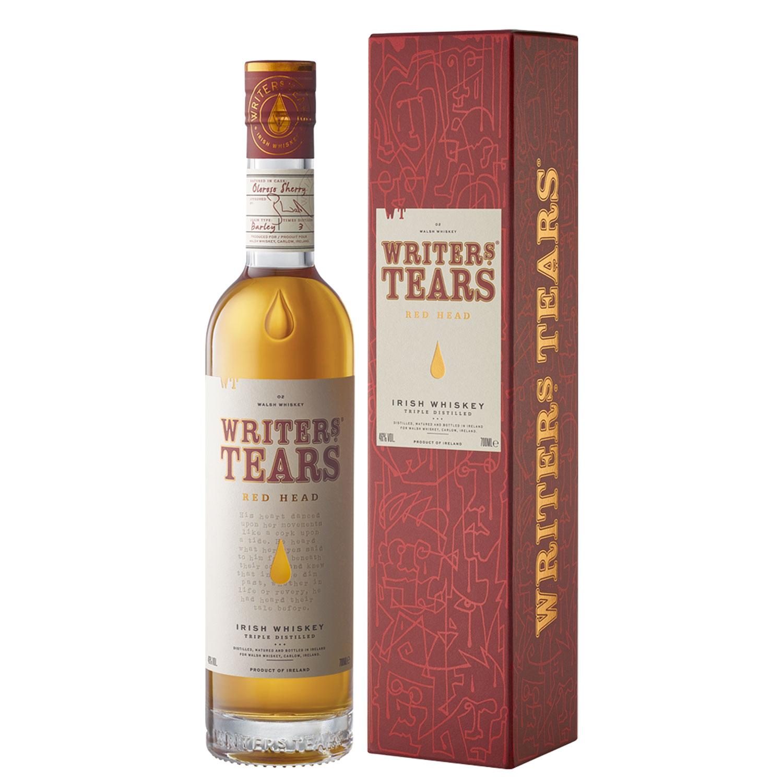 Whisky - Writer\'s Tears - Red Head - Irlandais - Single Malt - Non Tourbé - 70 cl - 46°