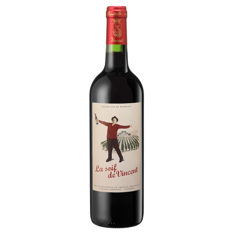 Côtes de Bourg - La Soif de Vincent  - Vignobles Lemaitre - 2017