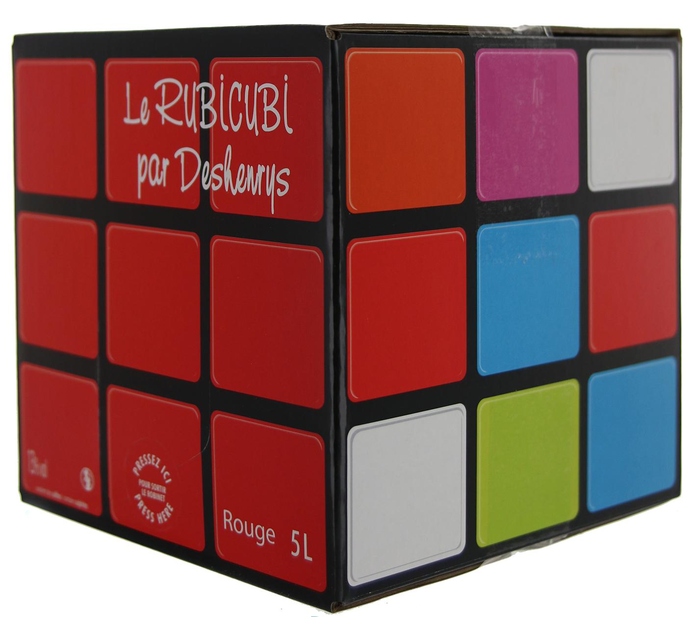 Côtes de Thongue - Cubi de qualité - RubiCubi - 5L - ROUGE