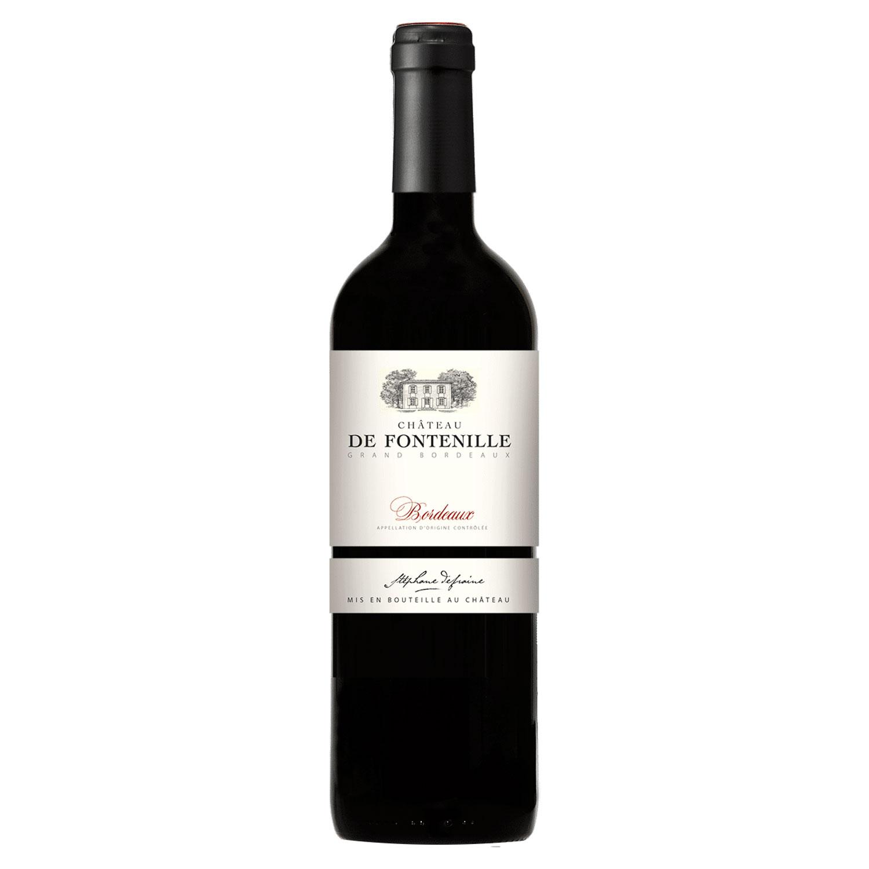 Bordeaux rouge - Château de Fontenille - 2018