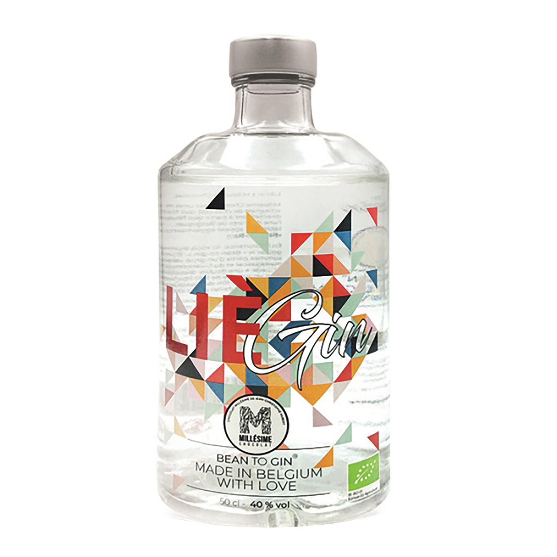 Gin - Liegin - Bean To Gin - Belgique - 50 cl - 40° - BIO