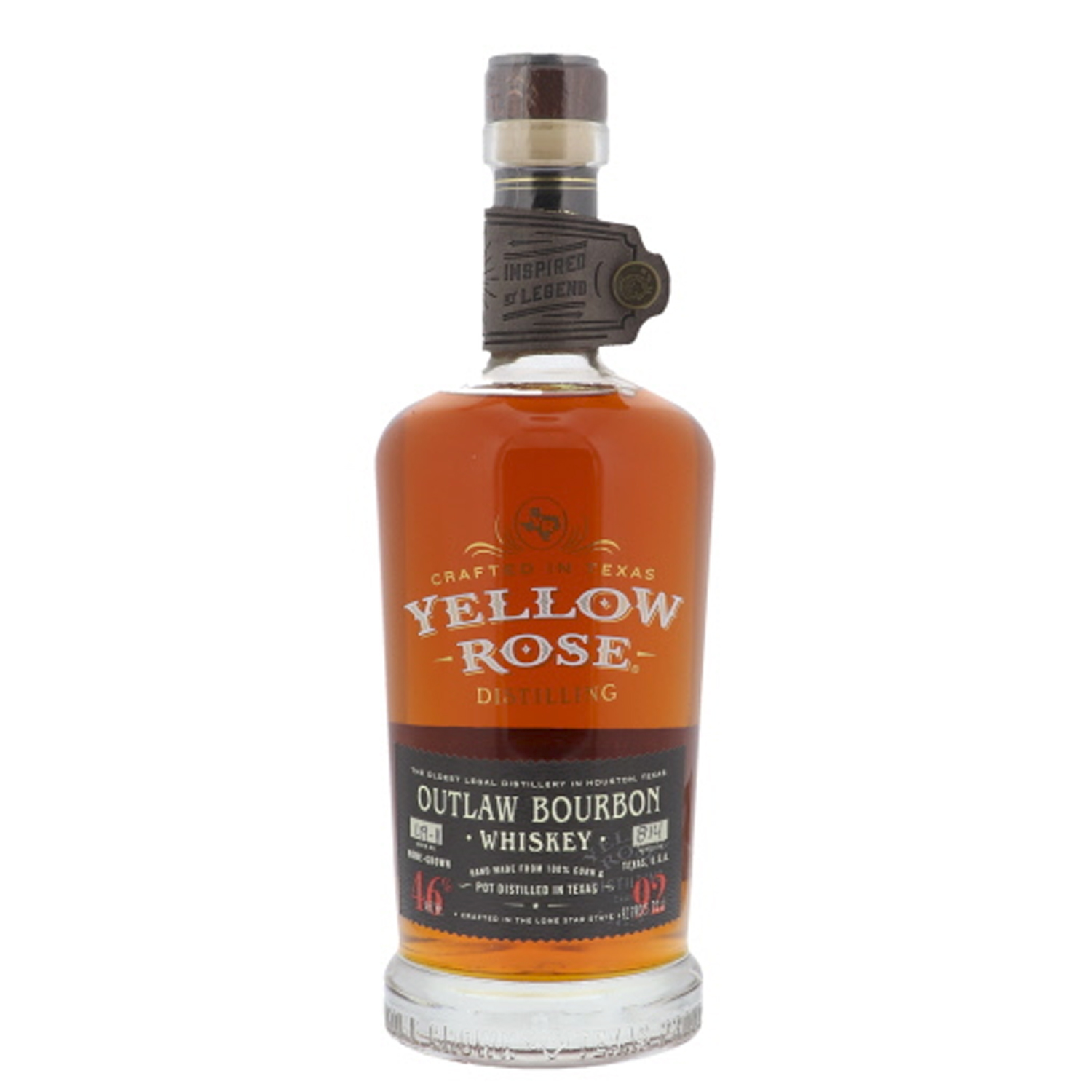 Whisky - Yellow Rose - Outlaw Bourbon Whiskey - 70cl - 40°