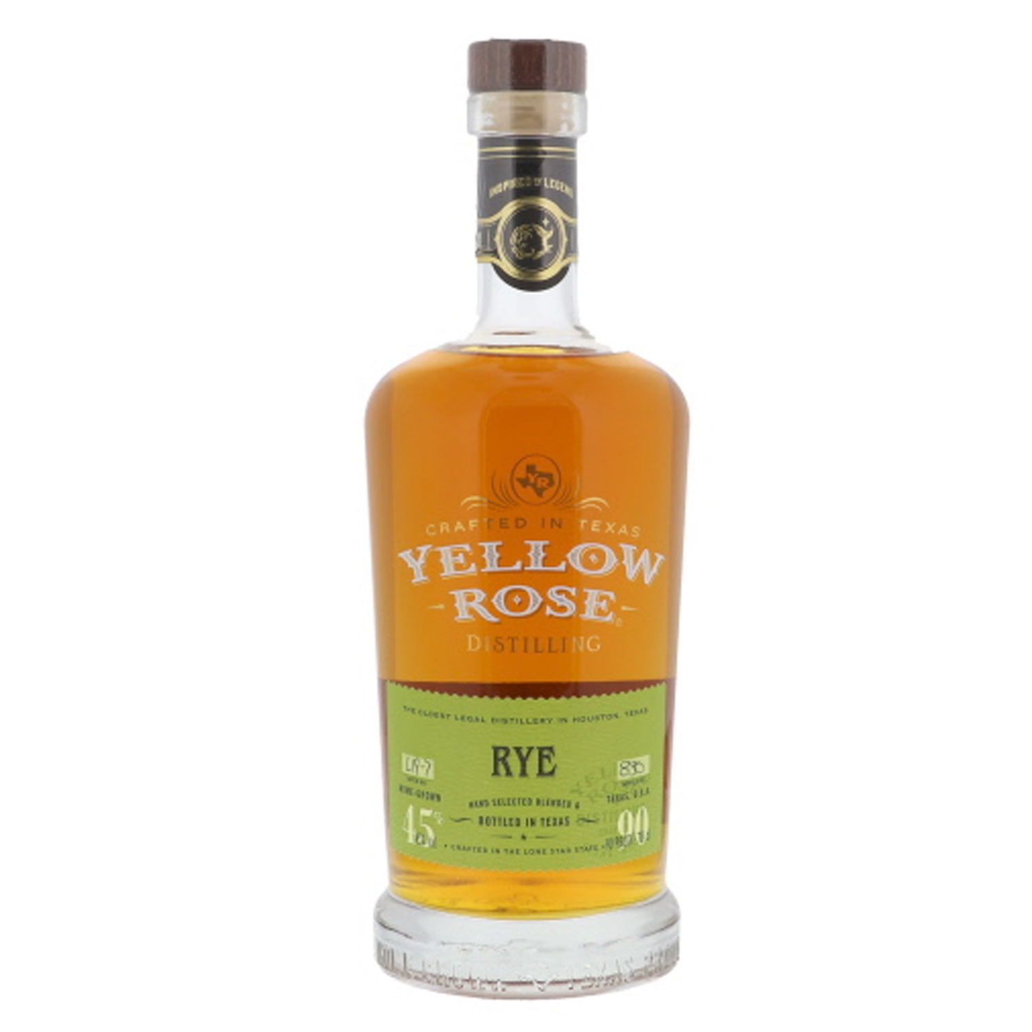 Whisky - Yellow Rose - Rye - 70cl - 45°