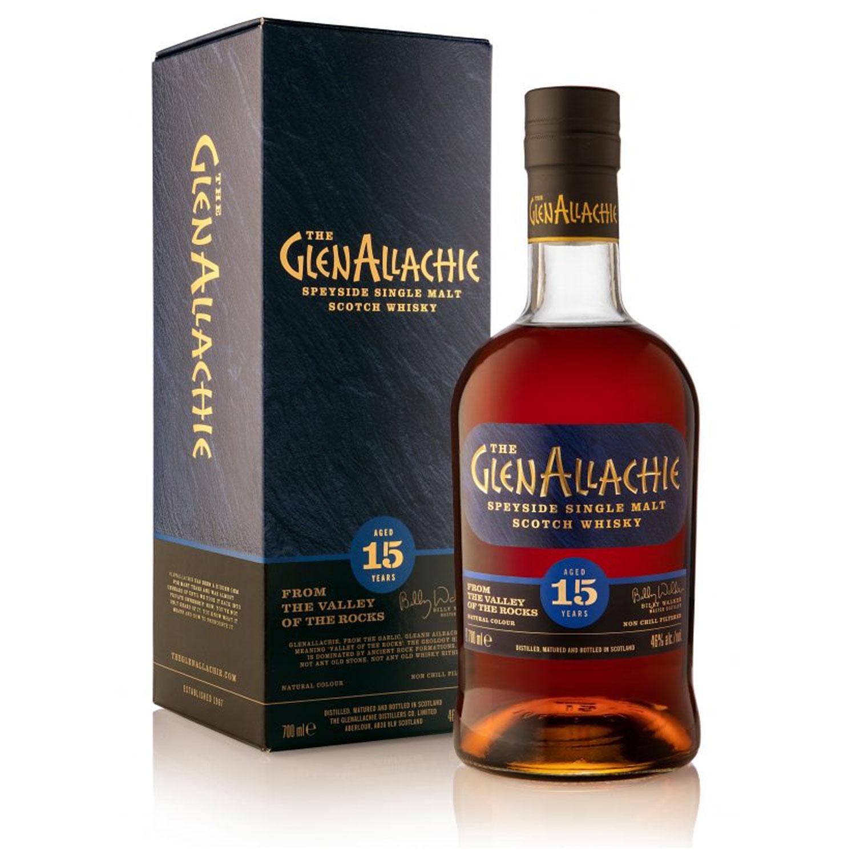 Whisky - GlenAllachie - 15 y - Ecosse - Single Malt - Non Tourbé - 70 cl - 46°