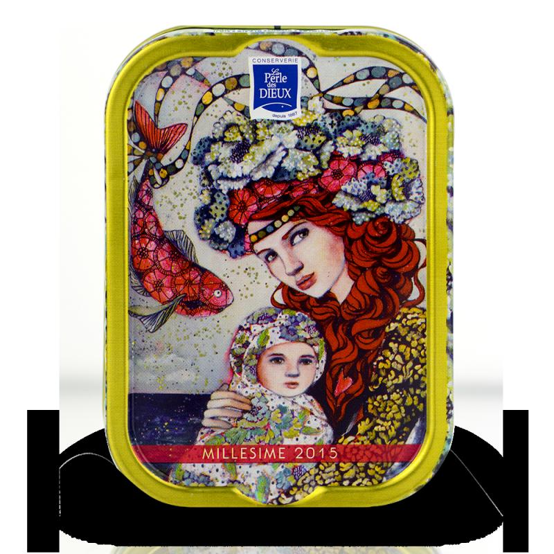 Sardines Millésimées 2015 - Delphine Cossais - Le premier voyage de Capucine - La perle des dieux - 115g