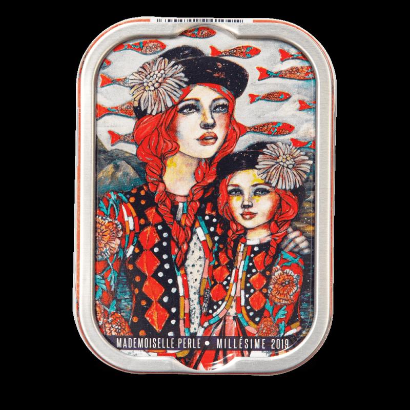 Sardines Millésimées 2019 - Delphine Cossais - Mlle Perle et Capucine au Pérou - La perle des dieux - 115g