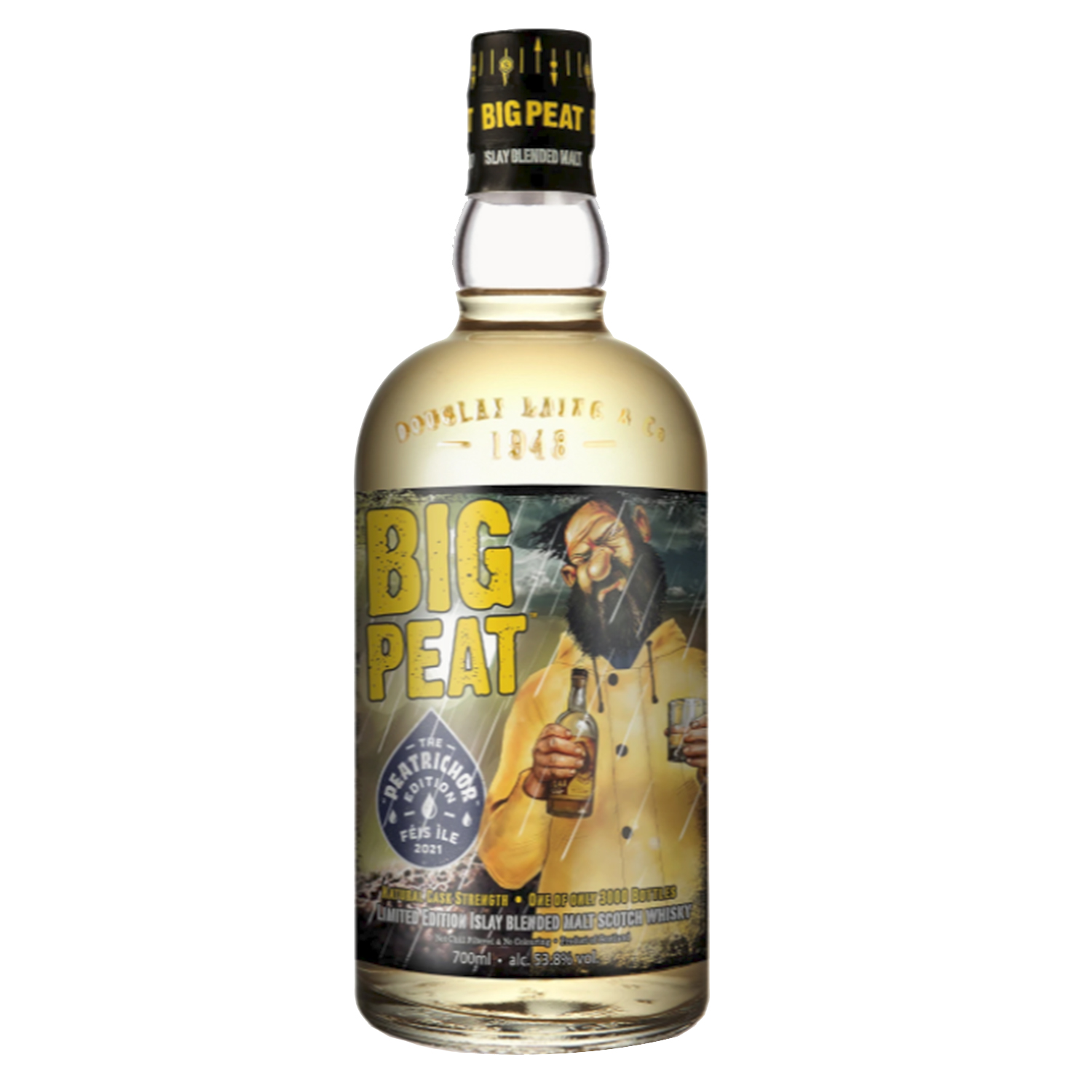 Whisky - Big Peat - Peatrichor - Peated - Blend - 70cl - 53,8°